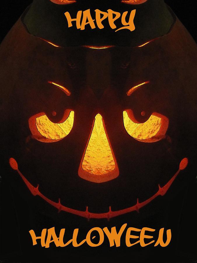 Halloween Digital Art - Happy Halloween by Tim Allen