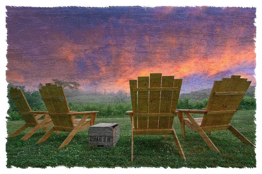 Appalachia Photograph - Happy Hour by Debra and Dave Vanderlaan