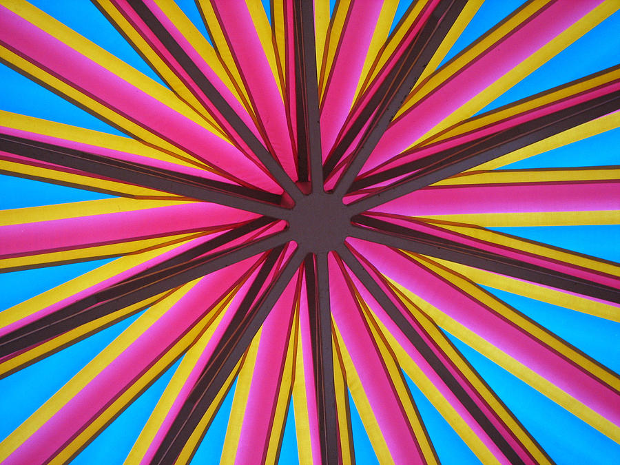Abstract Photograph - Happy Umbrella by Bill Lucas