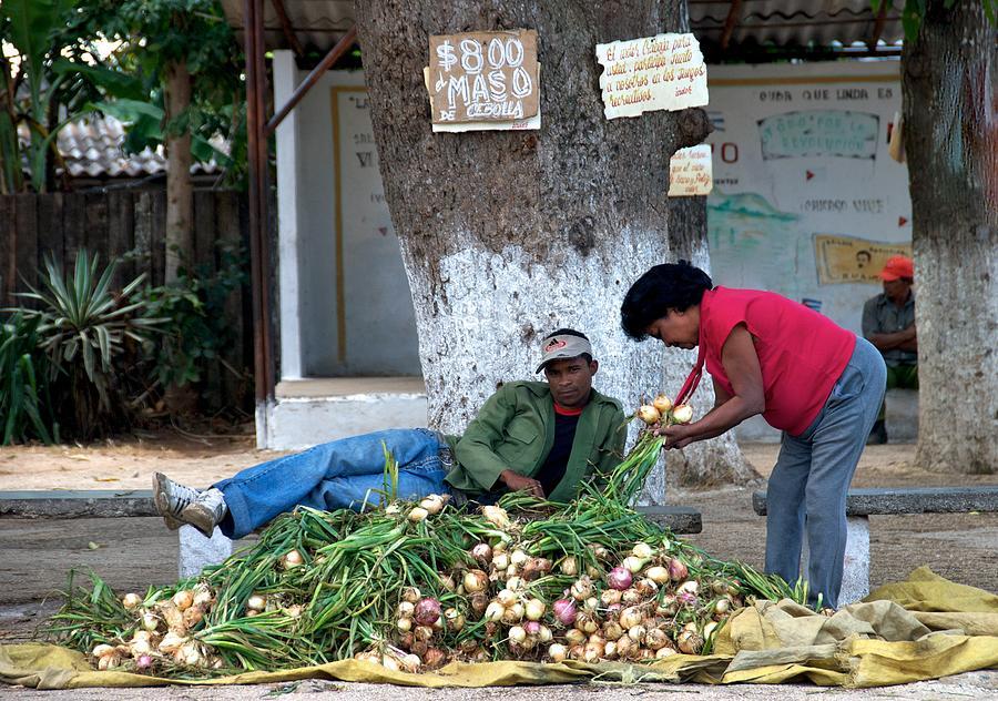 Cuba Photograph - Happy Working Day by Renata Apanaviciene