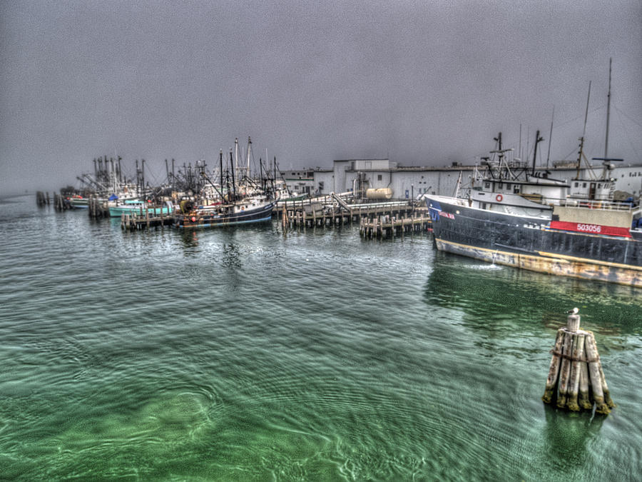 Digital Photography Photograph - Harbor Dawn by Paul Wear