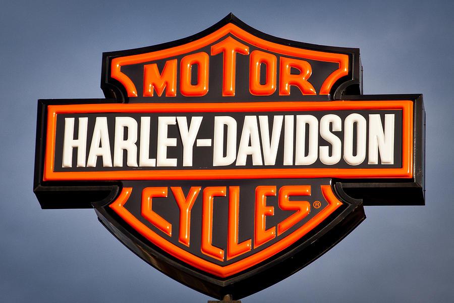 harley davidson sign photographdavid patterson