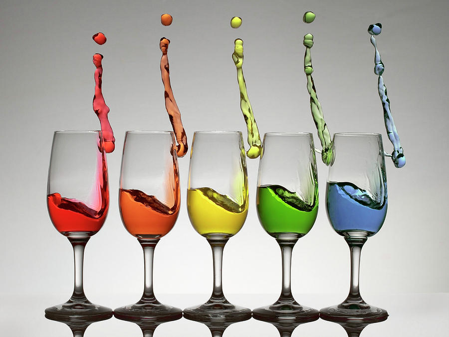 Wine Photograph - Harmonic Cheers by William Freebilly photography