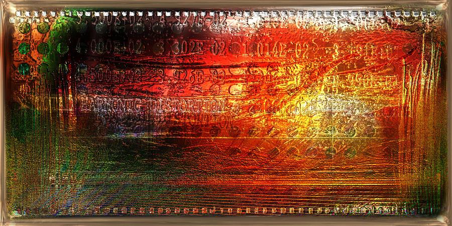 Contemporary Photograph - Harmonic Distortion by Li   van Saathoff
