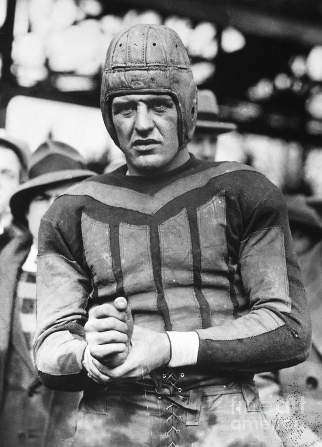 20th Century Photograph - Harold (red) Grange by Granger
