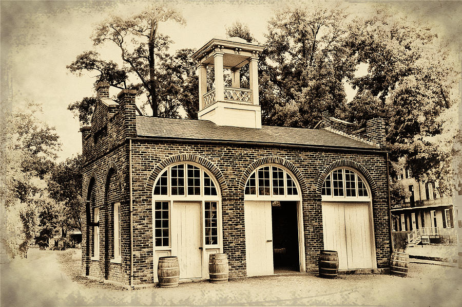 Harpers Ferry Armory Photograph - Harpers Ferry Armory by Bill Cannon