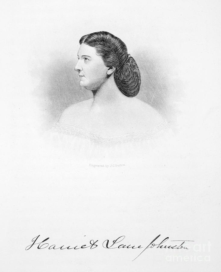 19th Century Photograph - Harriet Lane Johnston by Granger