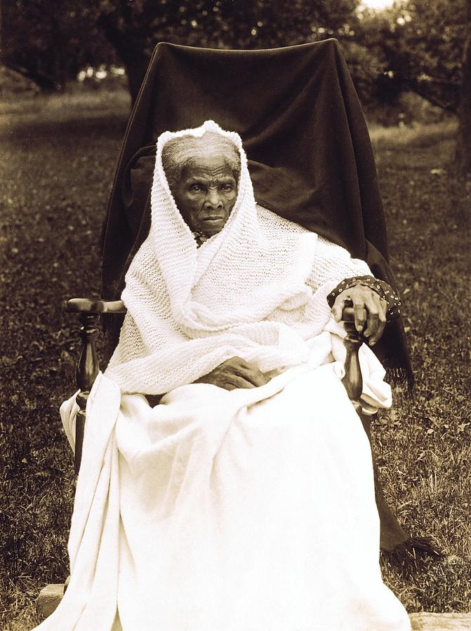 History Photograph - Harriet Tubman 1820-1913 In Old Age by Everett