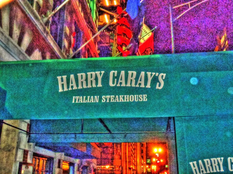 Chicago Digital Art - Harry Carays by Barry R Jones Jr