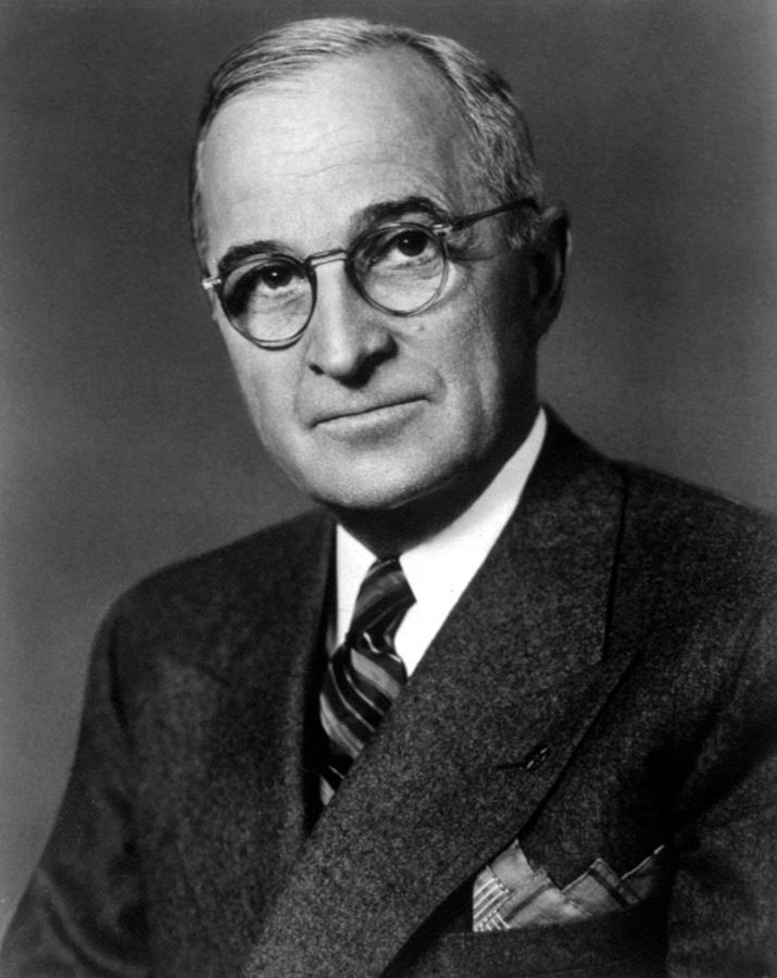 Harry Truman Photograph By Everett