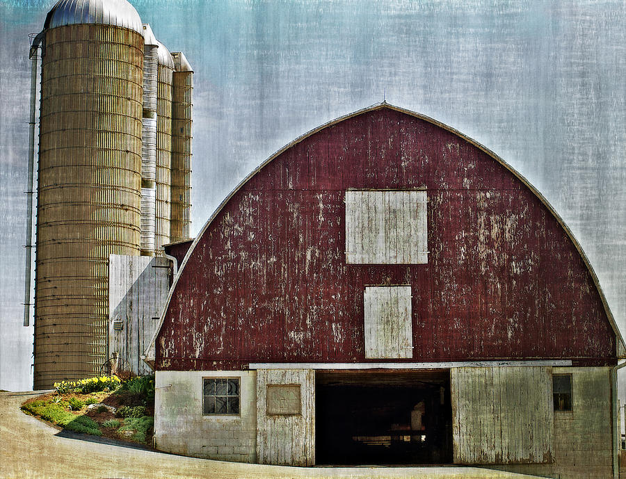 Barn Photograph - Harvest Barn by Kathy Jennings
