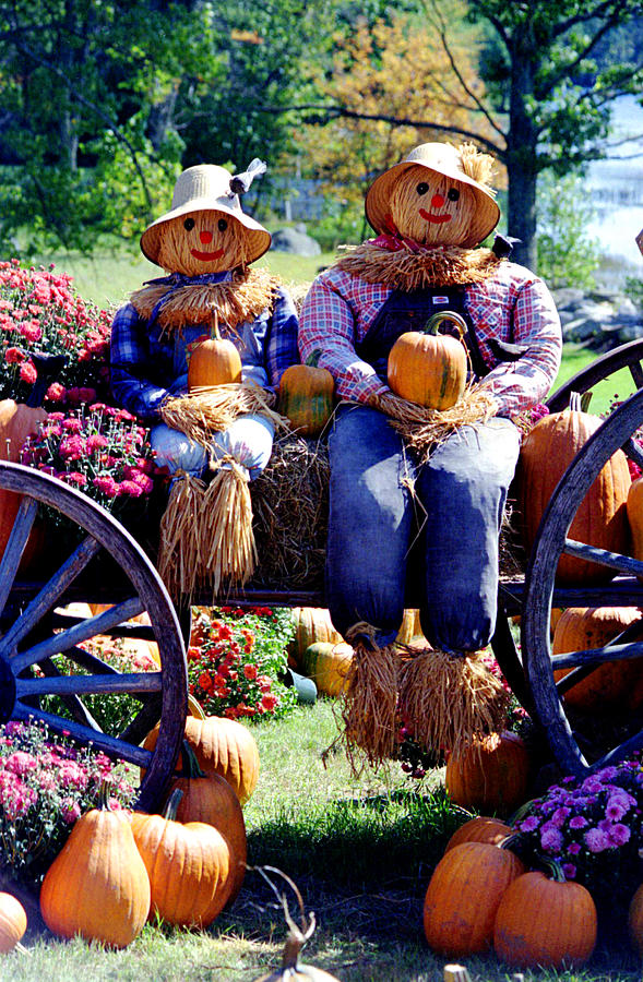 Agriculture Photograph - Harvest couple by Emanuel Tanjala