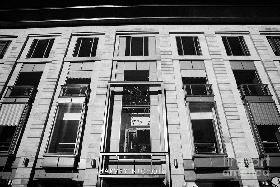 Harvey Photograph - Harvey Nichols Store St Andrew Square Edinburgh Scotland Uk United Kingdom by Joe Fox