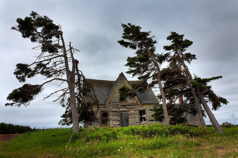 Abandoned Photograph - Haunted House by Matt Dobson