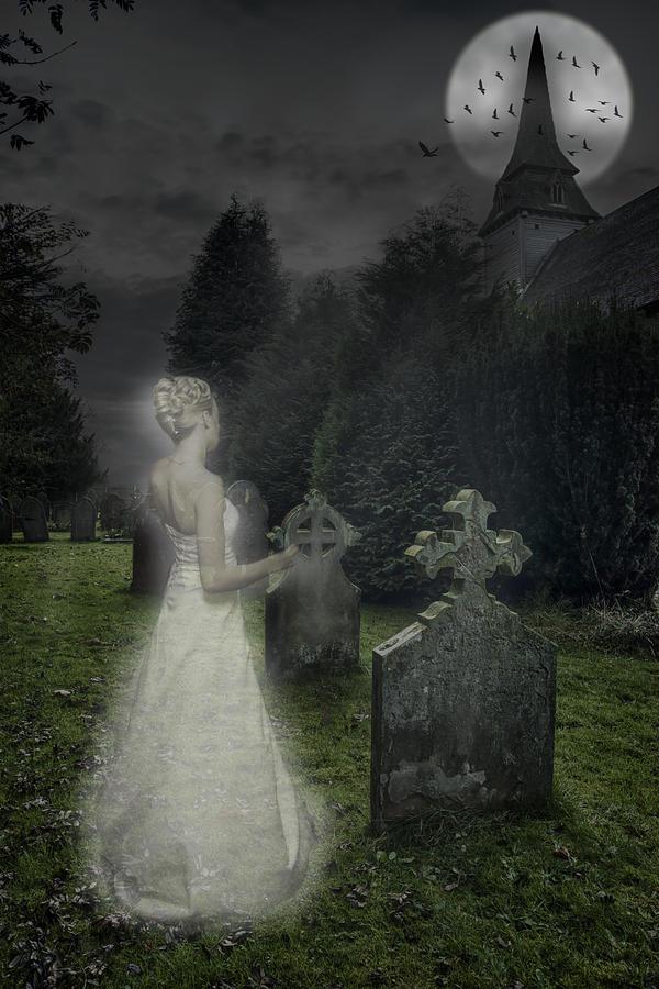 Haunted Photograph - Haunting by Amanda Elwell