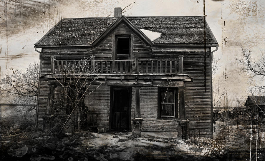 House Photograph - Haunting East by Jerry Cordeiro