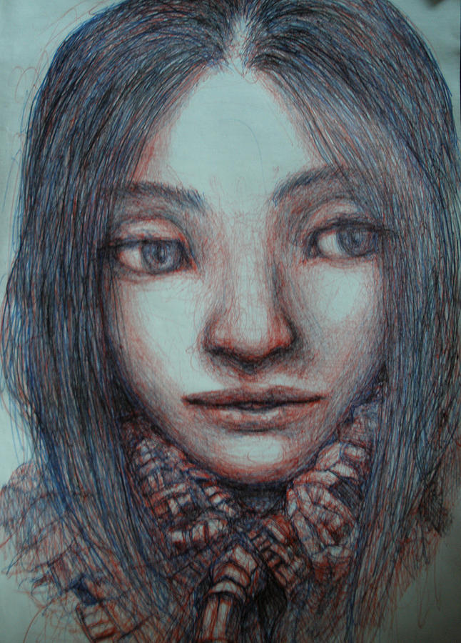 I Like Evolving Drawing - Have You Seen Her by Ralph Nixon Jr