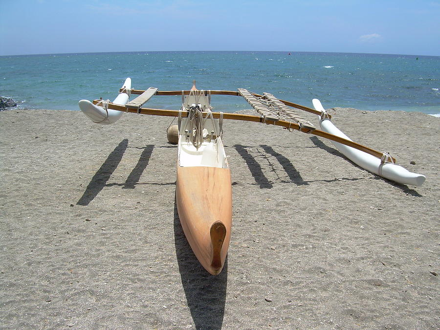 Hawaii Outrigger Canoe Photograph by Lisa Randlette