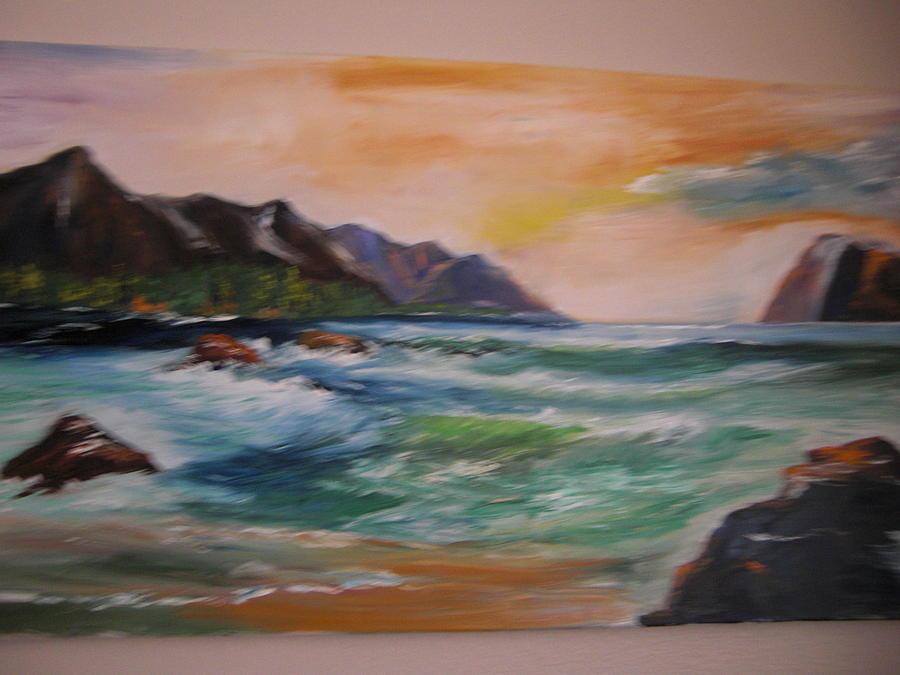 Seascape Painting - Hawaiian Mood by Bernie Fiebranz