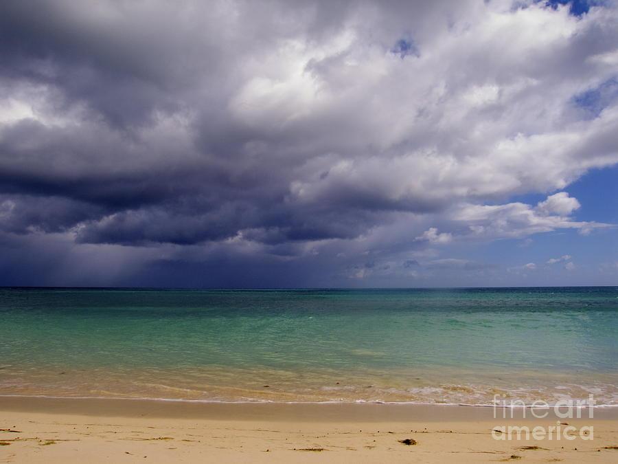 Clouds Photograph - Hawaiian Storm by Kimberley Bennett