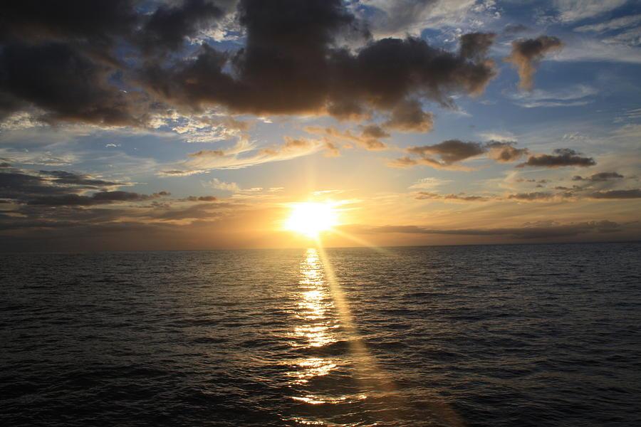 Hawaii Photograph - Hawaiian Sunset 2 by Brandon Radford