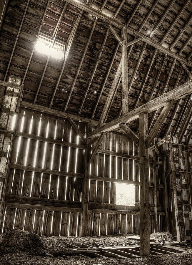 Barn Photograph - Hay Loft by Scott Norris