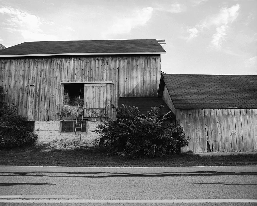 19th Century Farming Photograph - Hay Lofted Barn by Jan W Faul