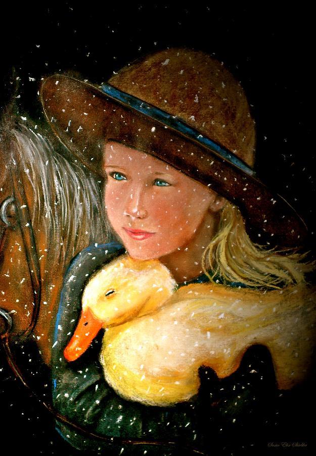 Snow Painting - Hayden by Susan Elise Shiebler