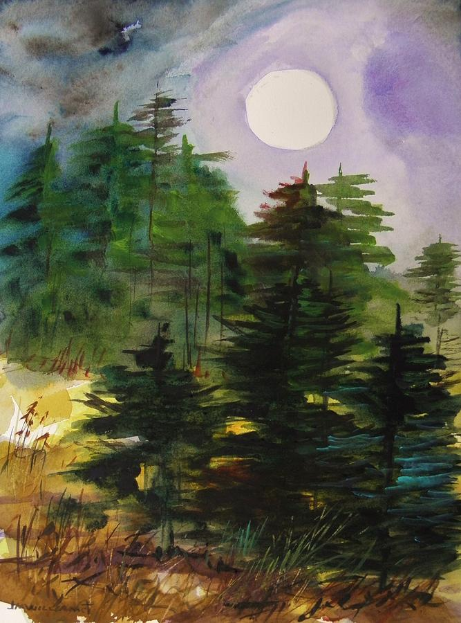 Haze Painting - Haze Moving In by John Williams