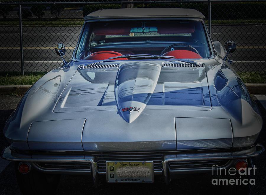 Hdr Corvette Classic Convertible Old School Cool Photo Picture Auto ...