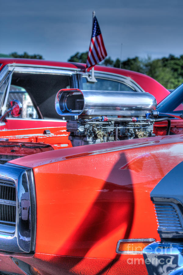 Hdr Patriotic Photos Photography Picture American Flag Car Muscle ...