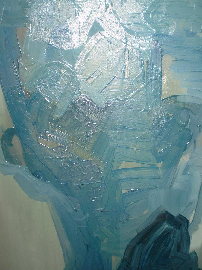 Head2 Painting by Dusan  Marelj