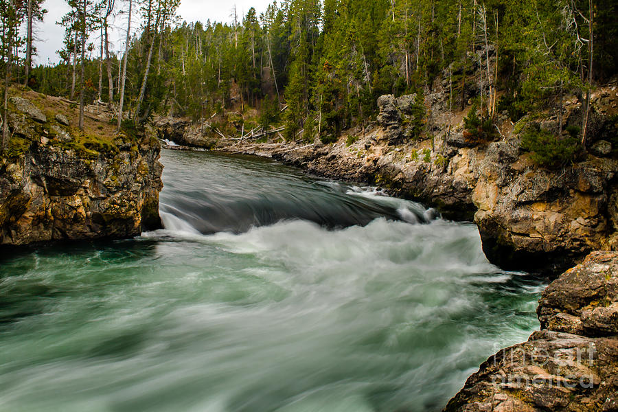 River Photograph - Heading For The Fall by Robert Bales