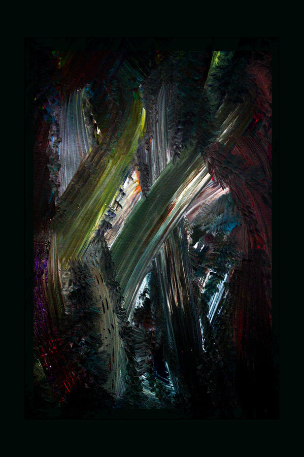 Abstract Painting - Heading For The Light by Marie Jamieson