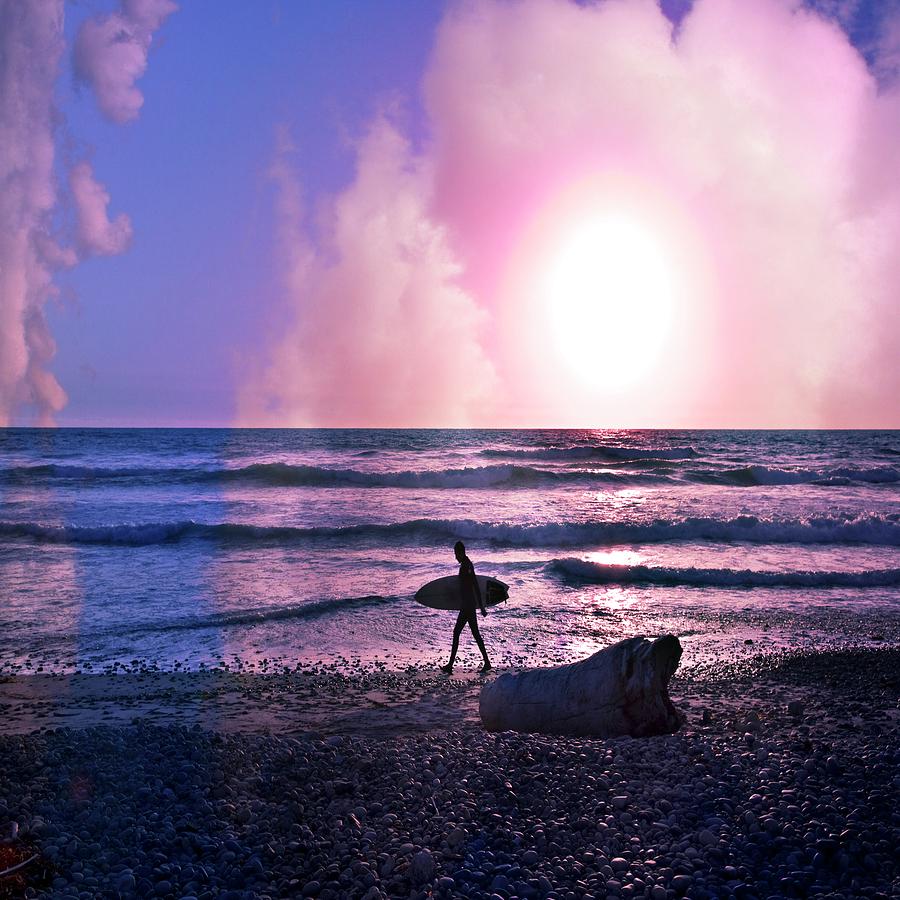 Clouds Photograph - Heading Home by Gilbert Artiaga