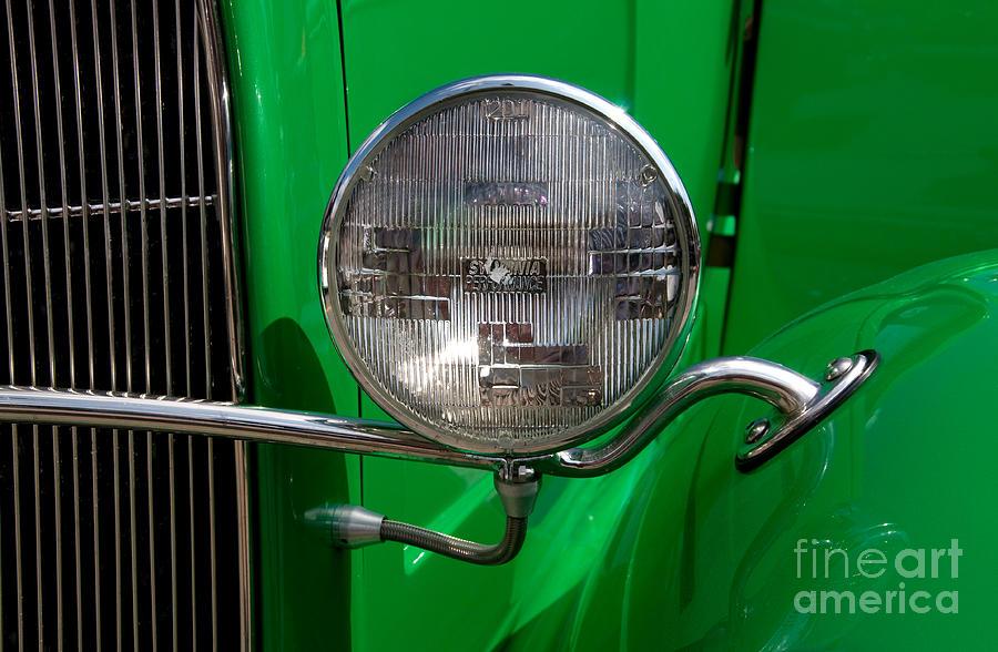 Headlight Photograph - Headlight by Vivian Christopher