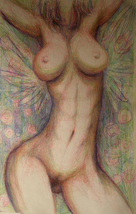 Healing Visual Drawing by Ralph Nixon Jr