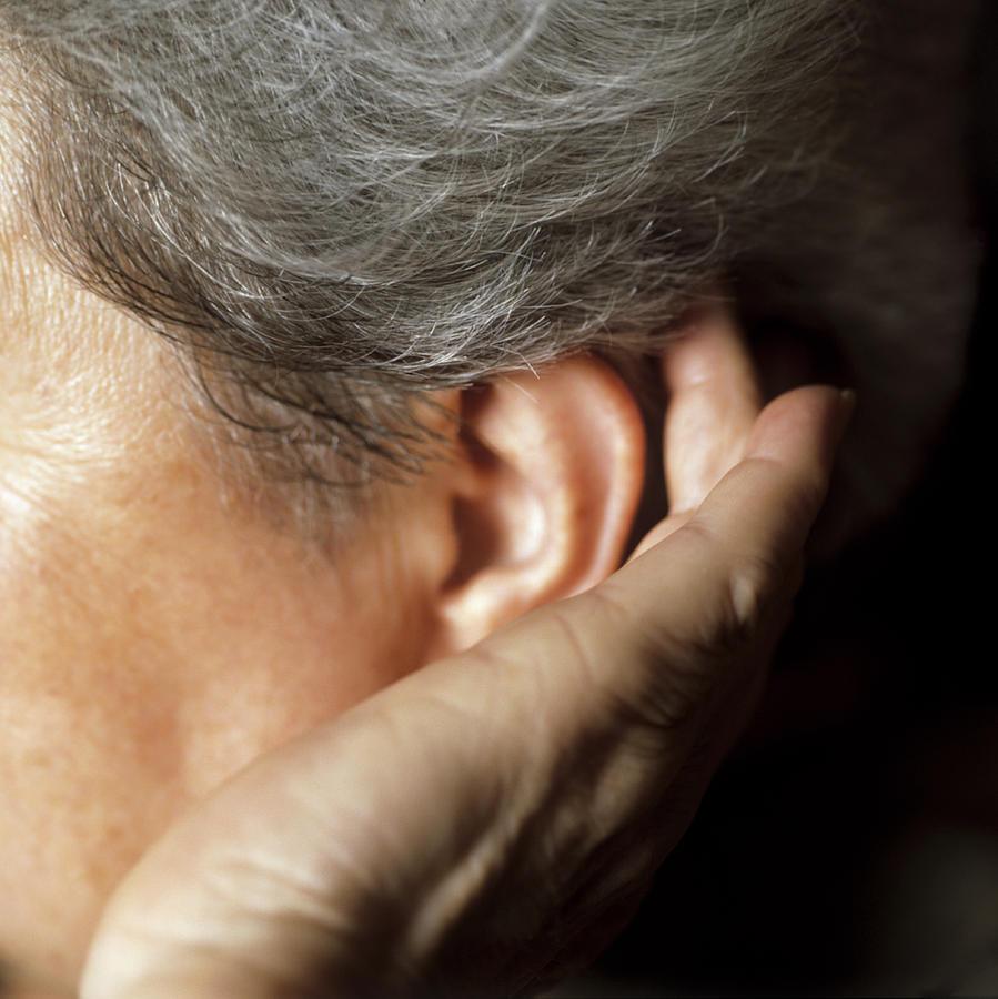 Ear Photograph - Hearing Loss by Cristina Pedrazzini