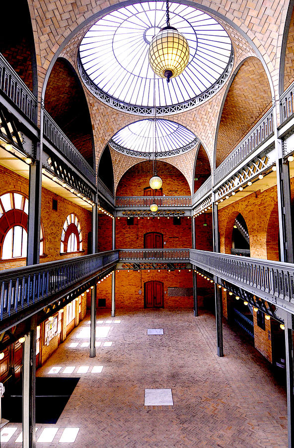 Hearst Mining Building Photograph - Hearst Mining Building by Leori Gill