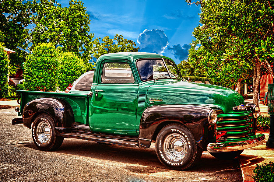 Chevrolet Truck Photograph - Heart Beat Is Still Beating by Frank Feliciano