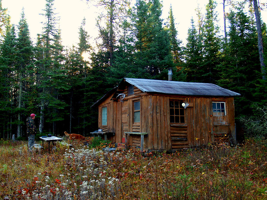 Ely Photograph - Heart Cabin by Jessica Yudis