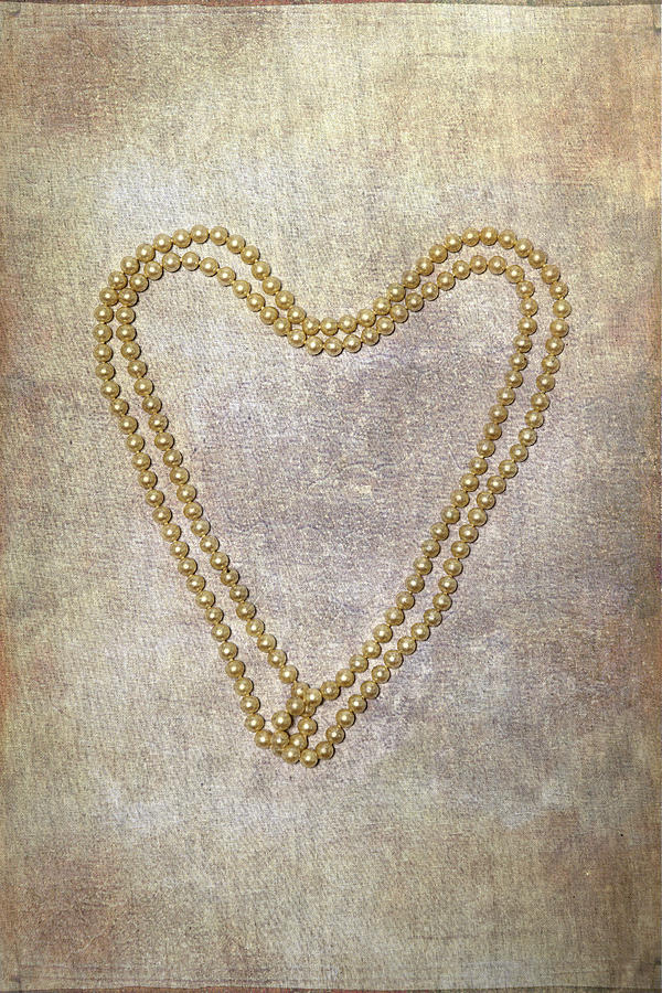 Pearl Photograph - Heart Of Pearls by Joana Kruse