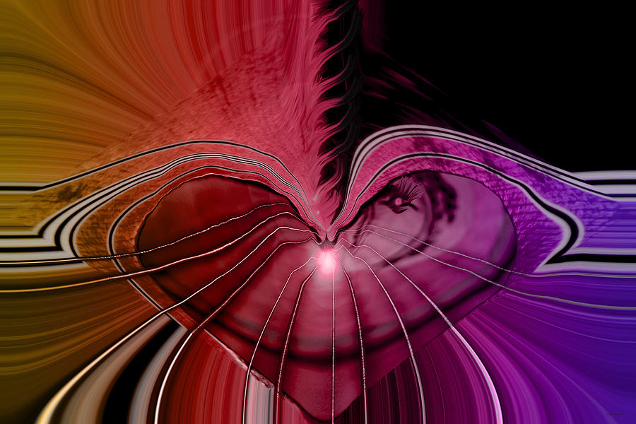 Hearts Digital Art - Heart Strings by Linda Sannuti