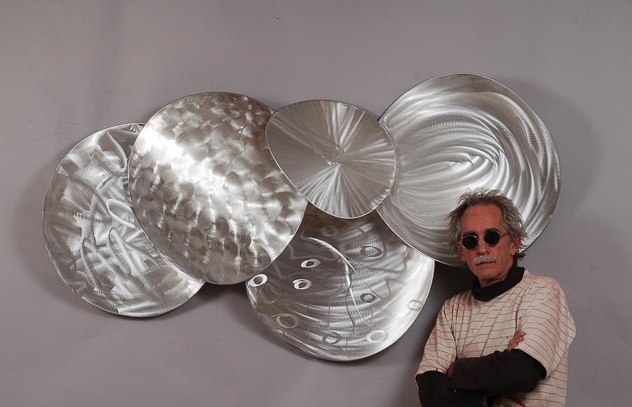 Welded Sculpture - Heat Of Shadows by Mac Worthington