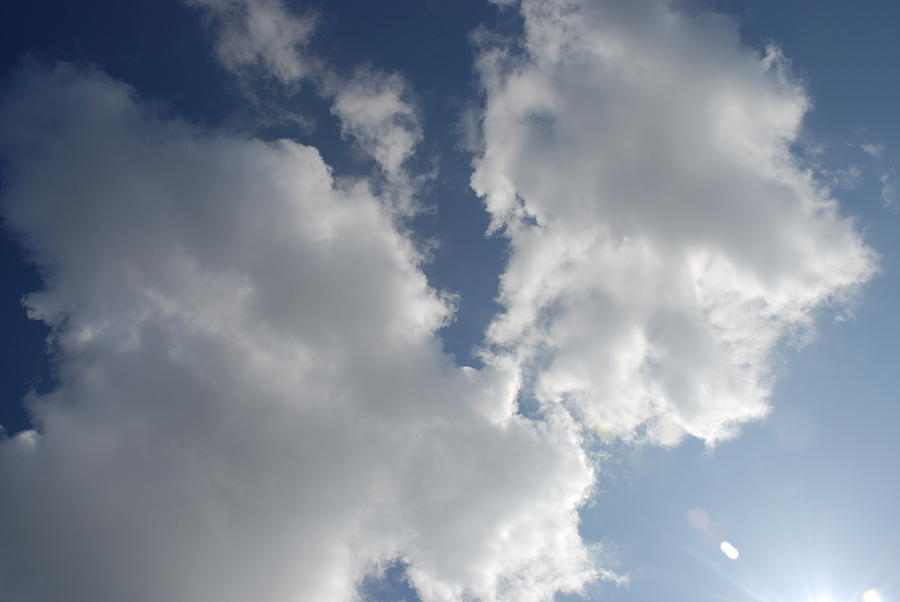 Cloud Photograph - Heavenly Clouds by Michael Merry