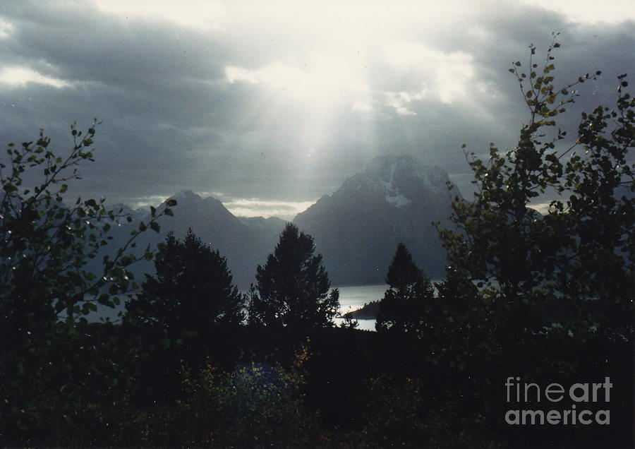 Light Rays Photograph - Heavenly Rays by Barbara Plattenburg