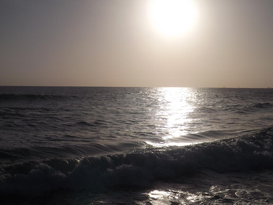 Beach Photograph - Heavenly Sunset by Jamie Diamond