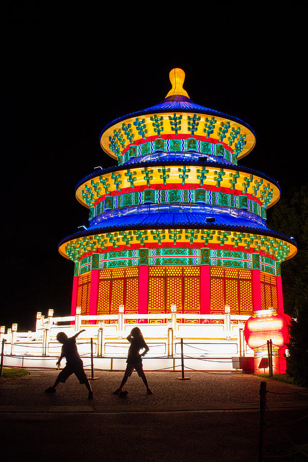 China Photograph - Heavenly Temple by Semmick Photo