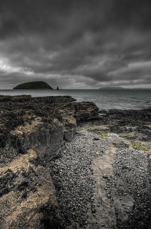 Sea Photograph - Heavy Sky by Andy Astbury