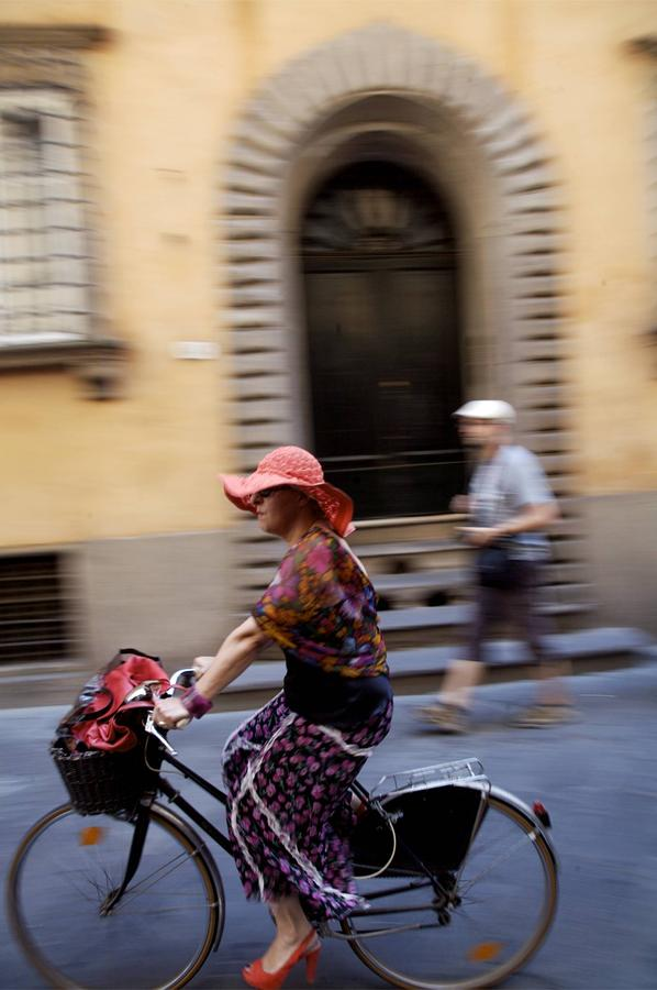 Bicycle Photograph - Heels On Wheels by Lee Stickels